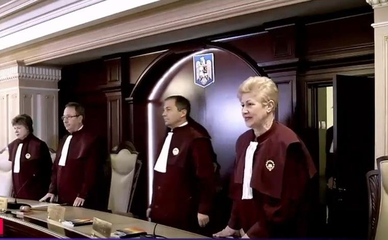 Judecătorii Curţii Constituţionale