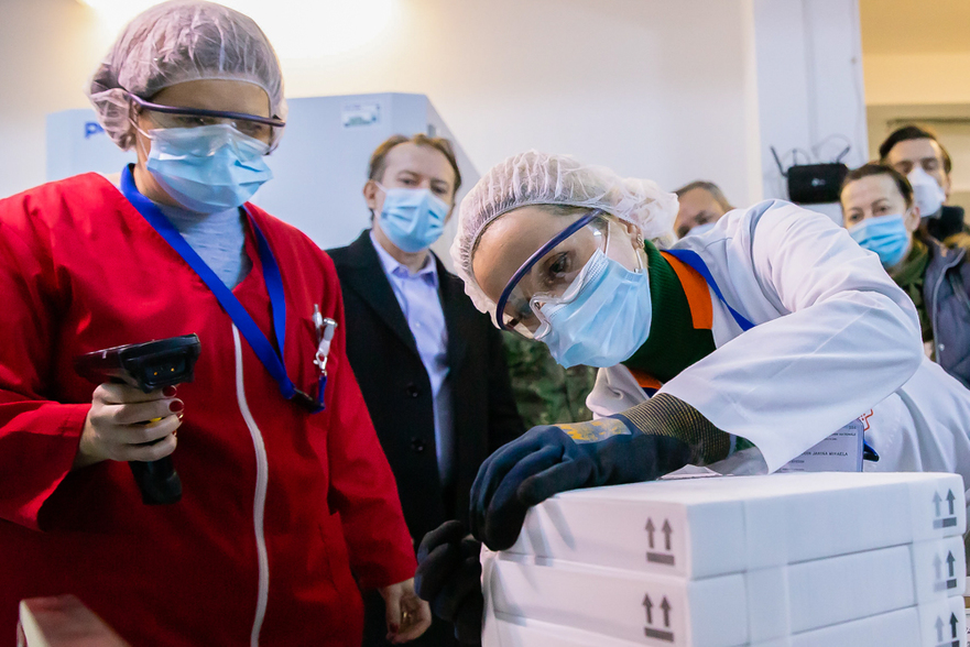 Lot de doze de vaccin impotriva COVID-19 - gov.ro