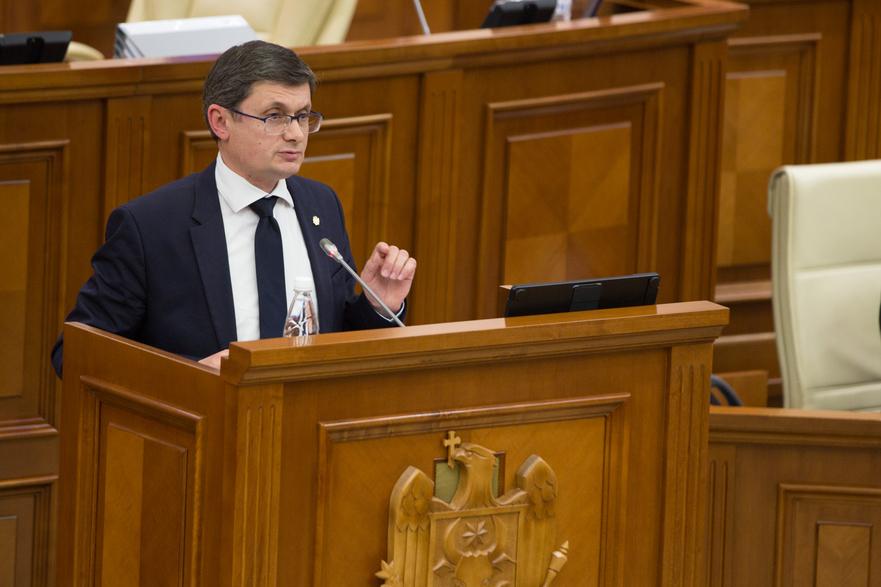Igor Grosu, deputat PAS în Parlamentul R. Moldova