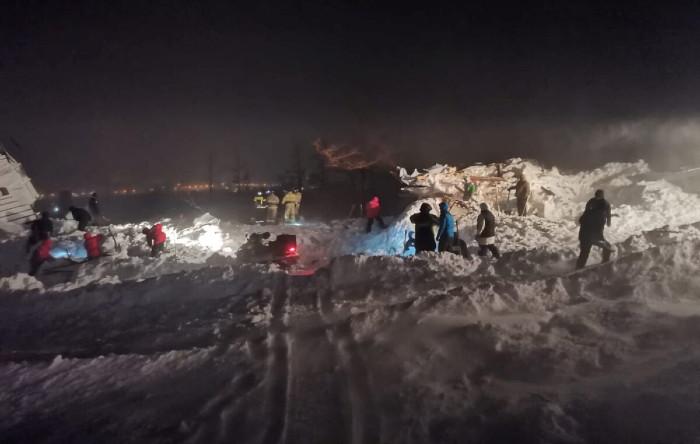 Avalanşă în Rusia