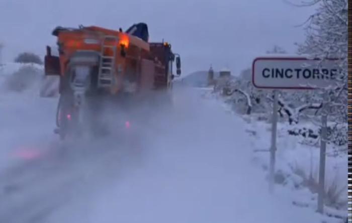 Zăpadă, Spania
