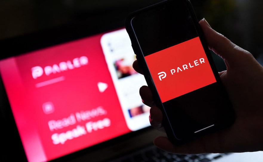 Logo-ul companiei Parler