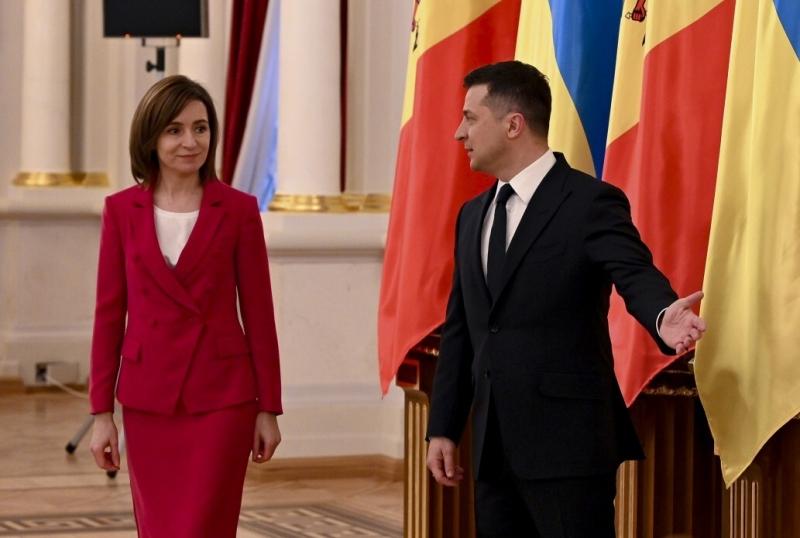 Maia Sandu în vizită la Kiev. Intrevedere cu Volodimir Zelenski