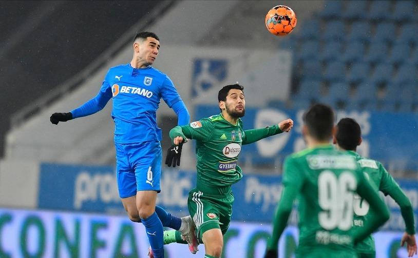 Universitatea Craiova - Sepsi OSK  Sfântu Gheorghe 0-0, în etapa a 16-a a Ligii I de fotbal.