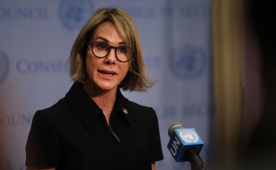 Ambasadorul SUA la ONU, Kelly Craft, 12 septembrie 2019