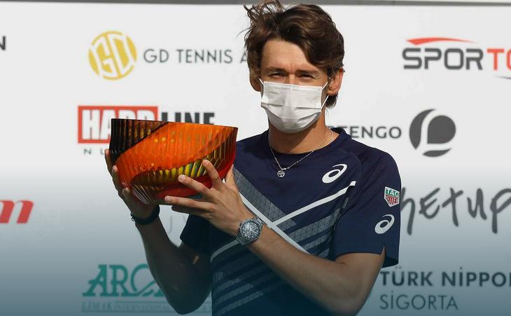 Tenismanul australian Alex De Minaur.