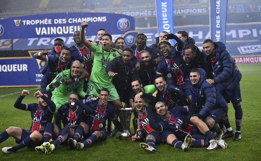 Echipa de fotbal Paris Saint-Germain a câştigat ediţia din acest an a  Trofeului Campionilor (Supercupa Franţei).