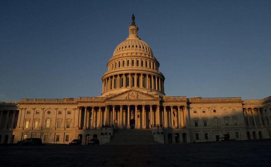 Capitoliul american 13 ianuarie 2021