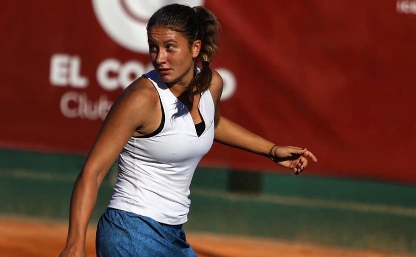 Jucătoarea română de tenis Ioana Loredana Roşca.