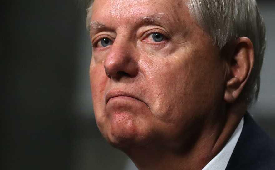 Preşedintele Comisiei Juridice a Senatului american, Lindsey Graham
