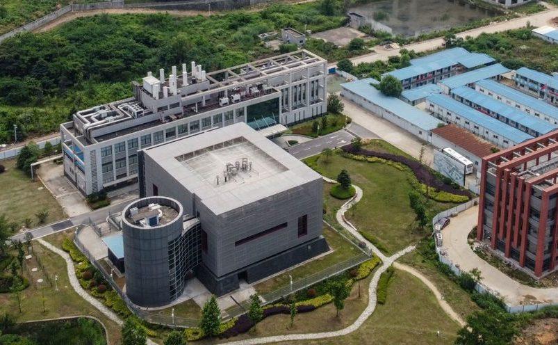 Vedere aeriană a Institutului de Virologie din Wuhan, 27 mai 2020