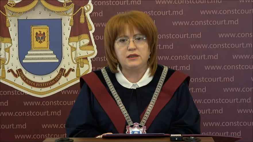 Domnica Manole, preşedinta Curţii Constituţionale