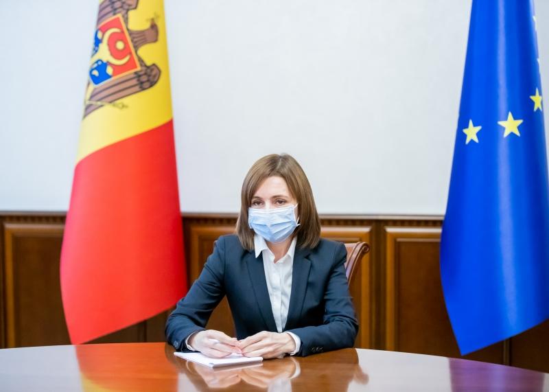 Maia Sandu, preşedintele R. Moldova