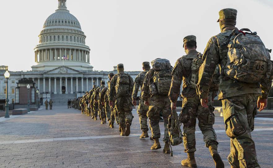 Garda Naţională în Washington DC, 19 ianuarie 2020