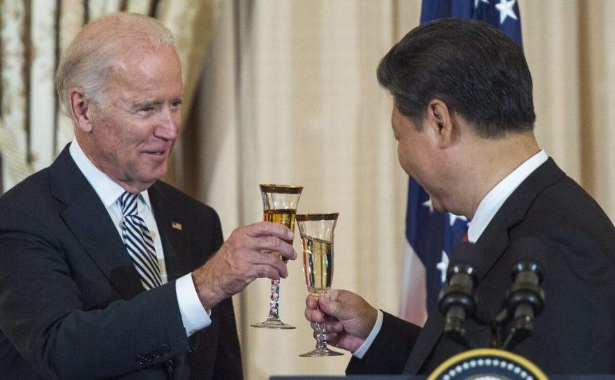 Joe Biden împreună cu Xi Jinping, 25 septembrie 2015
