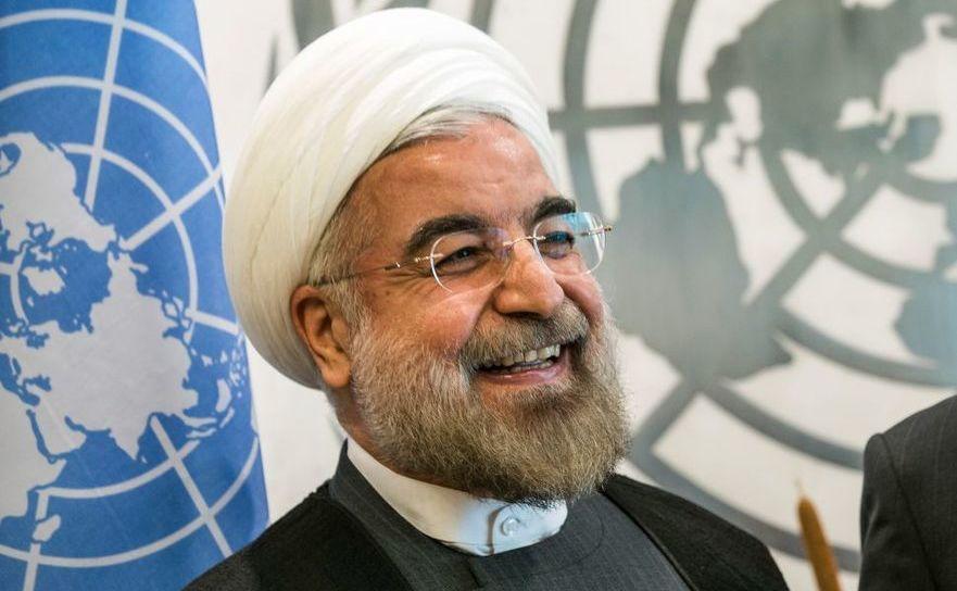 Preşedintele iranian Hassan Rouhani