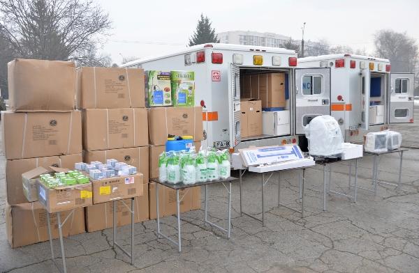 Lot deechipament medical şilogistic mobil, oferit de ambasada SUA la Chişinău