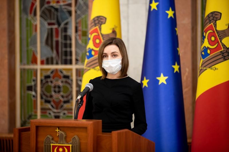 Maia Sandu - preşedintele R. Moldova