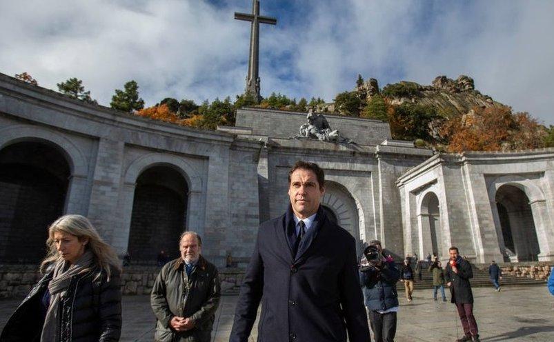 Valea Celor Căzuţi, unde sunt îngropaţi liptătorii Războiului Civil spaniol