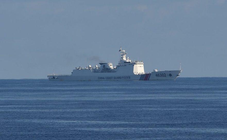 Navă a pazei de coastă a Chinei în Marea Chinei de sud - 14 mai 2019