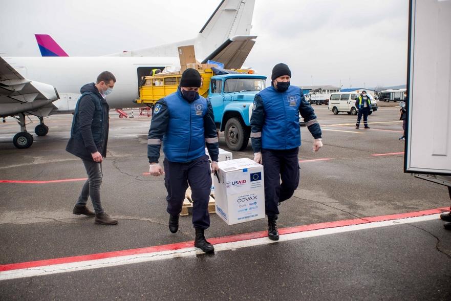 Lotul de vaccinului Pfizer primit de Moldova