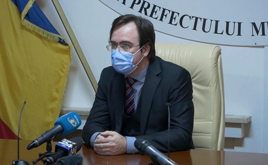 Alin Stoica, prefectul Capitalei
