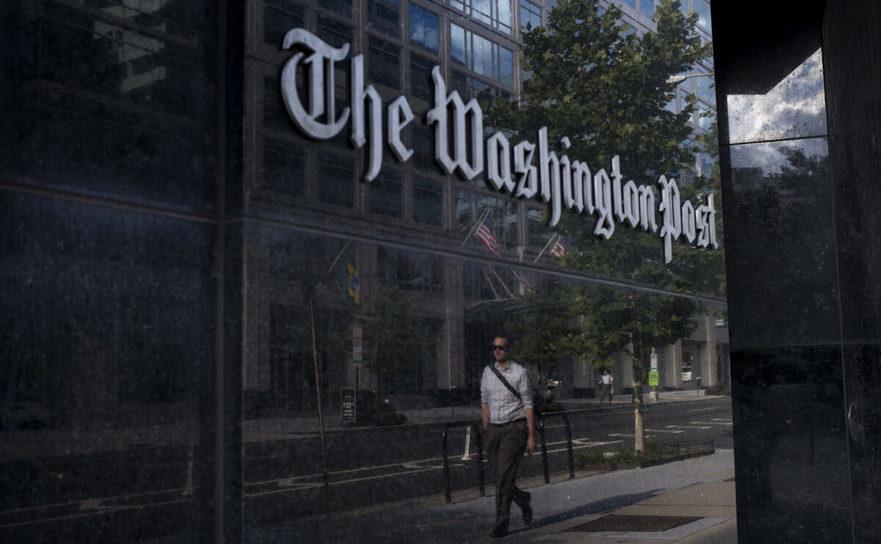 Birourile ziarului Washington Post din Washington