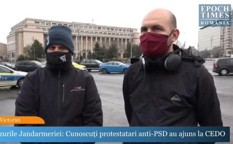 """Cristian Dide (dr) şi Marian Moroşanu, zis si """"Ceauşescu"""""""