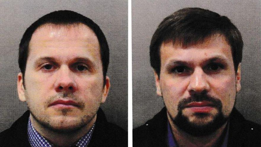 Alexander Petrov (S) şi Ruslan Boshirov, suspecţi în cazul Skripal, urmăriţi de poliţie britanică, sunt şi cei responsabili de explozia unui depozit ceh de muniţie în 2014