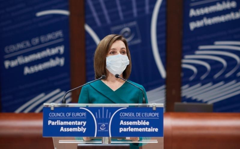 Maia Sandu, discurs la APCE