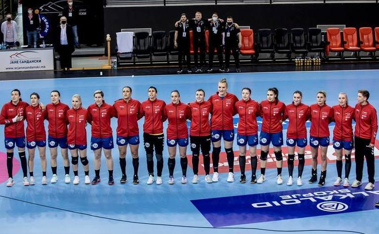 Echipa naţională de handbal a României.