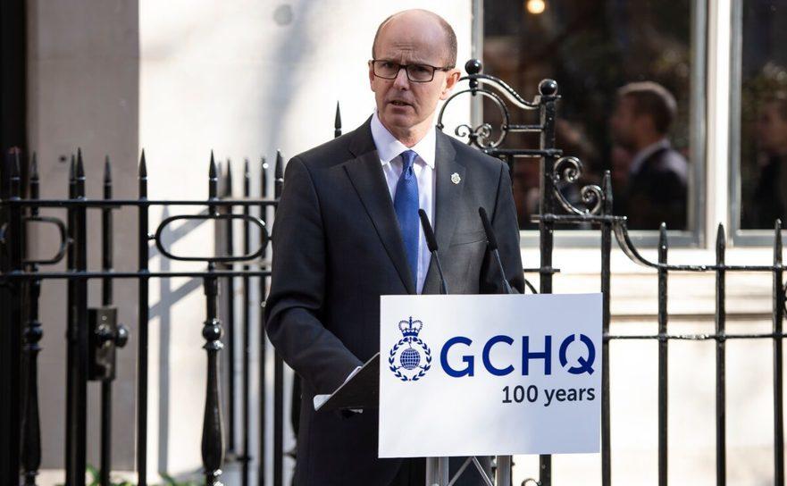 Directorul organizaţiei Government Communication Headquarters (GCHQ) Jeremy Fleming - 14 februarie 2019