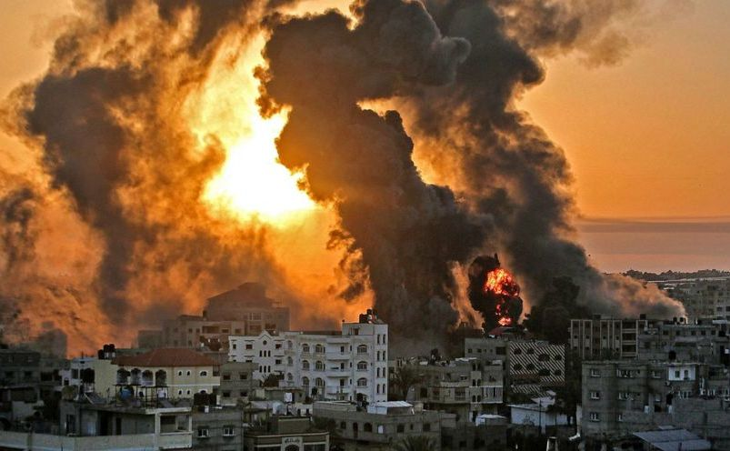 Atacuri israeliene în Fâşia Gaza