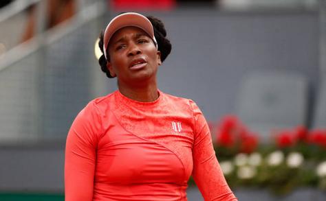 Jucătoarea americană de tenis Venus Williams.