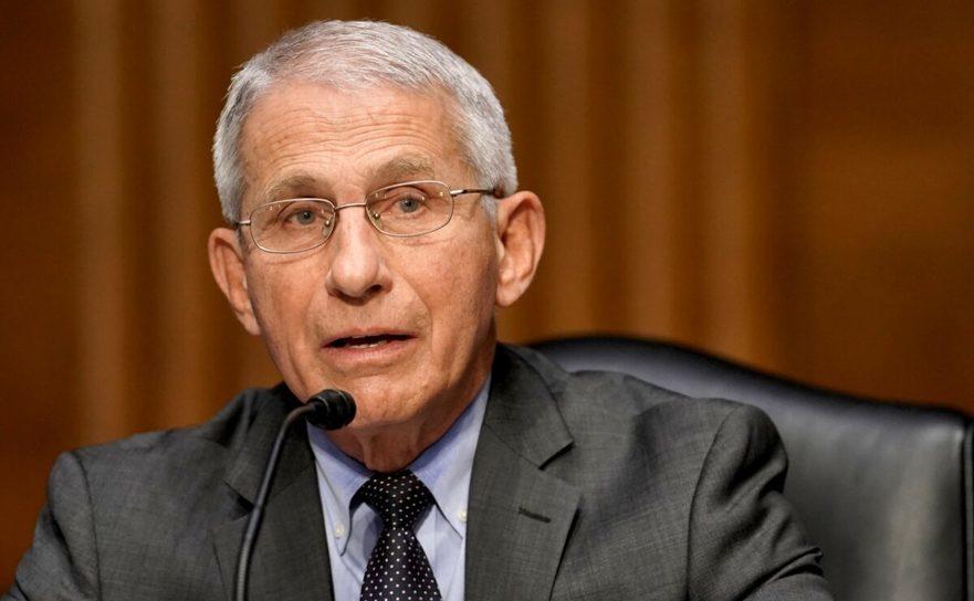 Dr. Anthony Fauci, directorul agenţiei de sănătate a SUA - National Institute of Allergy and Infectious Diseases, 11 mai 2021