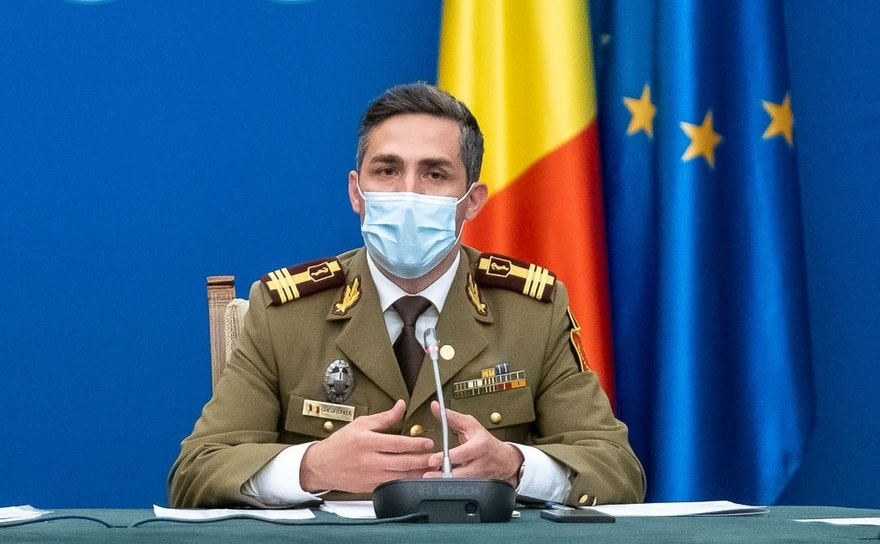 Medicul Valeriu Gheorghiţă - coordonatorul campaniei naţionale de vaccinare anti-Covid