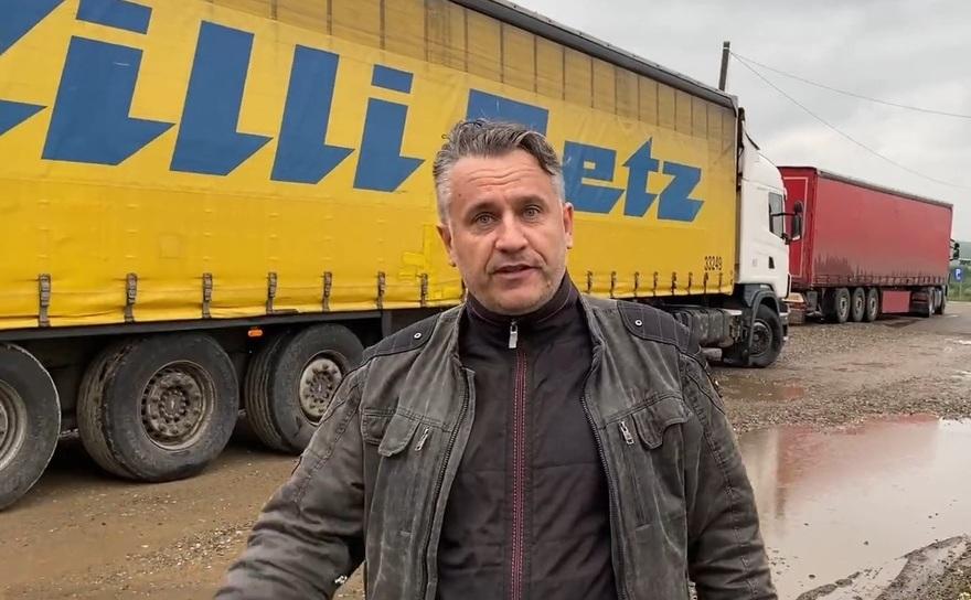 Activistul pentru mediu, Tiberiu Boşutar