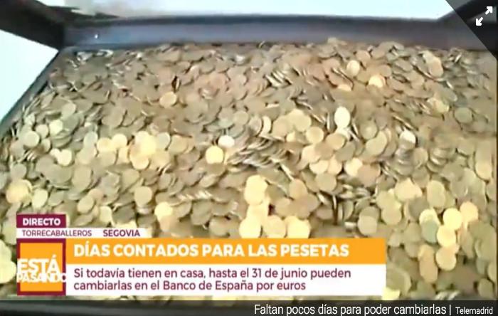 "Monede ""peseta"""