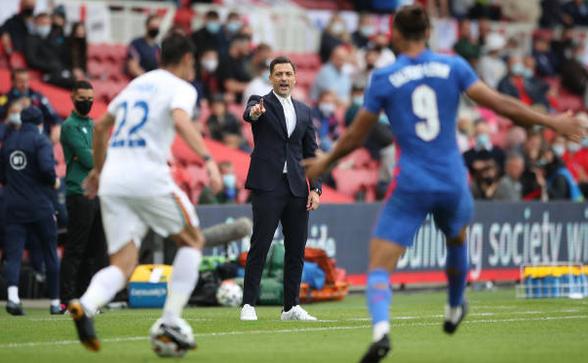 Anglia - România 1-0 (0-0), duminică seara, pe Stadionul Riverside din  Middlesbrough, într-un meci amical.