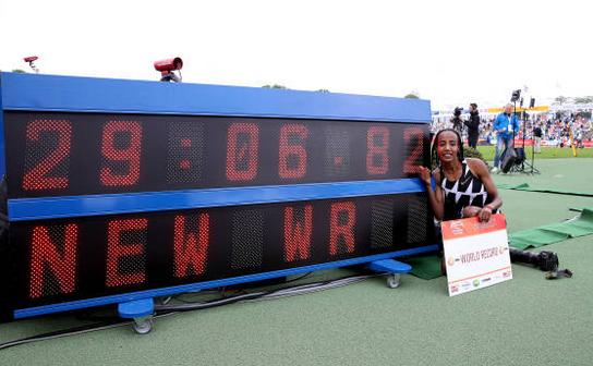 Atleta olandeză Sifan Hassan a doborât recordul mondial la 10.000 metri.