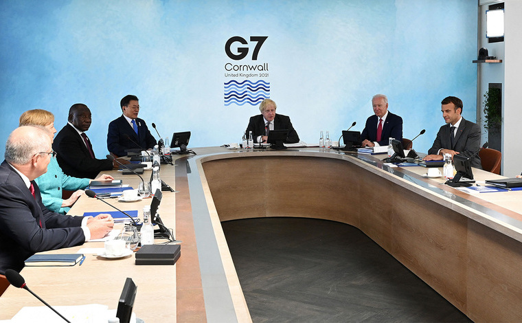 Întâlnire G7 la Cornwall