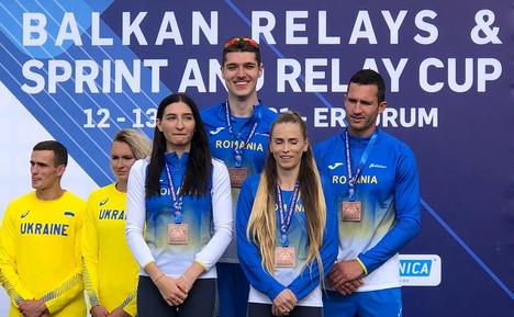 Sportivii români pe podium la Campionatele Balcanice de ştafete.
