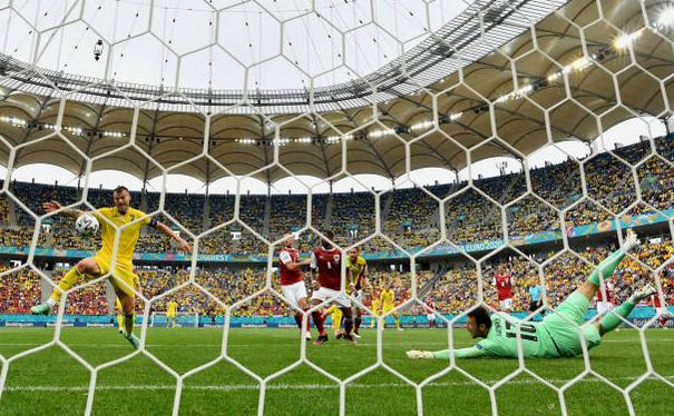 Austria - Ucraina 1-0, în  Grupa C a turneului final EURO 2020.