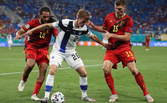 Belgia - Finlanda 2-0, meci din Grupa B a turneului final EURO 2020 la fotbal.