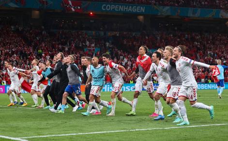 Danemarca - Rusia 4-1, duel din cadrul Grupei B a turneului final EURO 2020.