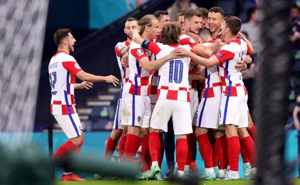 Croaţia - Scoţia 3-1 (1-1), pe Hampden Park din Glasgow, în Grupa D  a turneului final.