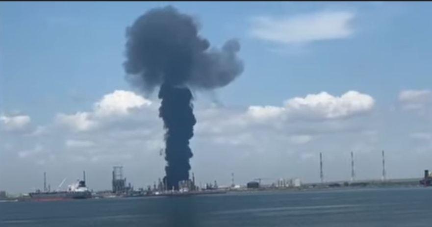 Explozie la Petromidia