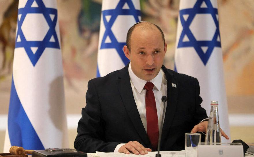 Premierul isaraelian Naftali Bennett, 19 iulie 2021