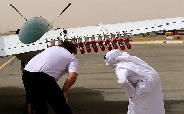 Drone producătoare de ploaie, EAU