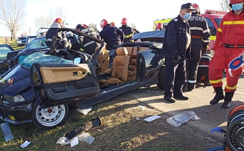 Accident tragic în Băcău